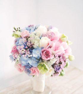 2.Athena 雅典娜 新娘捧花