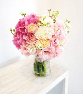 5.Cupid 邱比特 新娘捧花
