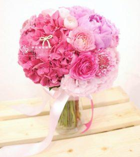 8.Doris 朵莉絲 新娘捧花