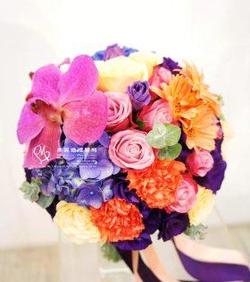 9.Dione 蒂歐娜 新娘捧花